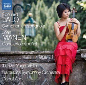 Tianwa Yang · Barcelona Symphony Orchestra, Darrell Ang: Lalo – Symphonie Espagnole / Manén - Concierto español - 8.573067