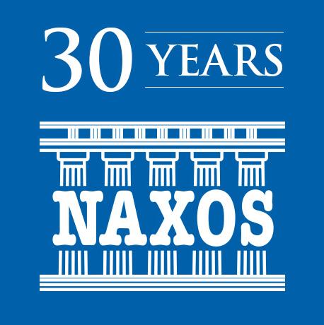 Naxos Logo 30 Jahre