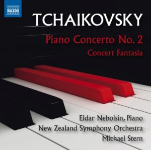Eldar Nebolsin: Tschaikowsky - Klavierkonzert Nr. 2 / Konzertfantasie - Naxos 8.573462