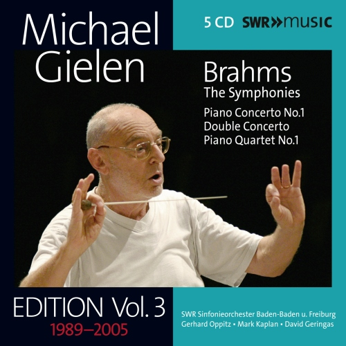 Michael Gielen Edition Vol. 3: Brahms - SWR19022CD