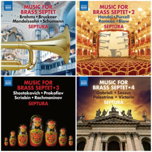 Septura - Music for Brass Ensemble Vol. 1–4