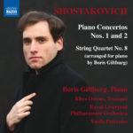 Giltburg - Shostakovich - Piano Concertos 1 & 2, Naxos 8.573666