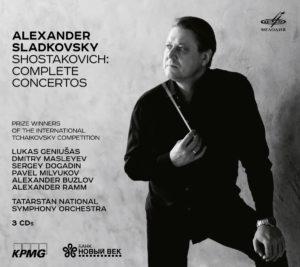 Tatarstan National Symphony Orchestra, Alexander Sladkovsky: Dmitri Shostakovich – Complete Concertos