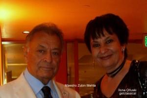 Maestro Zubin Mehta / Ilona Oltuski