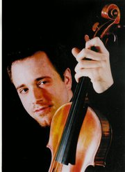 Violinist Ittai Shapira