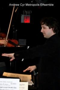 Dirigent Andrew Cyr