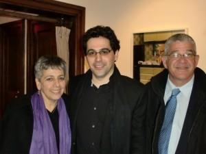 Avner Dorman, mit Herrn und Frau Zeev Dorman