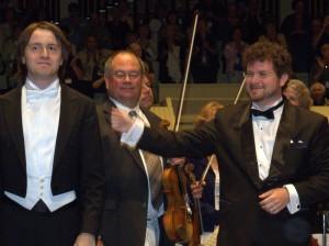 Daniil Trifonov, Noam Zur with CSO
