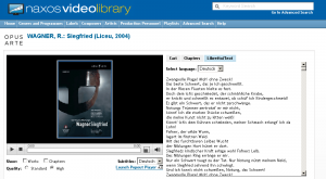 Naxos Video Library Player