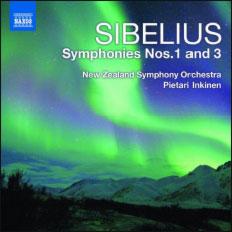 Sibelius (Sibelius Symphonien Nr. 1 & 3 / Naxos VÖ: 04.10.2010)